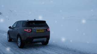 2015 Land Rover Discovery Sport: Do They Have Soccer Practice On Hoth?