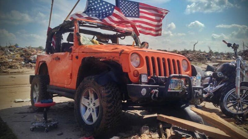 Heroic Jeep That Rescued People After A Tornado Is Getting A Rebuild