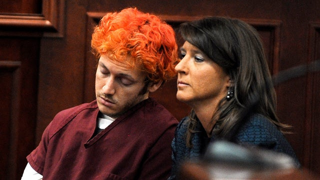 James Holmes Won't Stop Spitting at Correction Officers