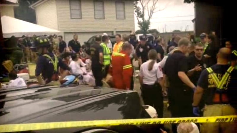 Dozens Injured After Floor Collapses During Religious Gathering