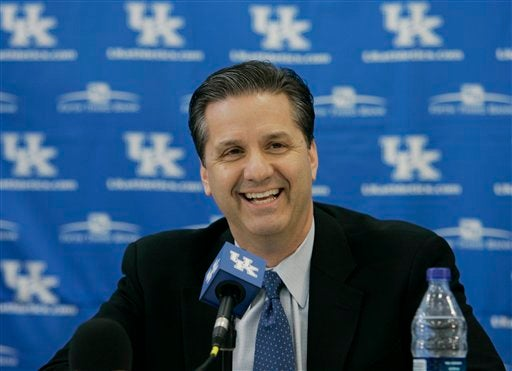 John Calipari Celebrates His First Final Four Appearance, Technically