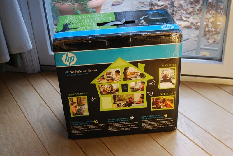 HP MediaSmart Server Arrives Looking Hunky... Yet Chunky (Gallery)