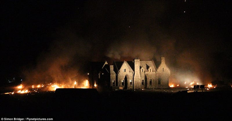 Bond Fire: 007's Mansion Torched in Skyfall