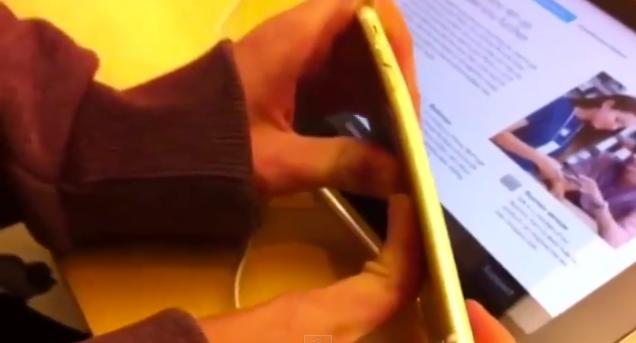 Stop Bending the Apple Store's iPhones
