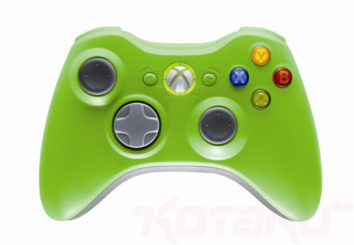 Microsoft Releasing LE Red, Green 360 Controllers