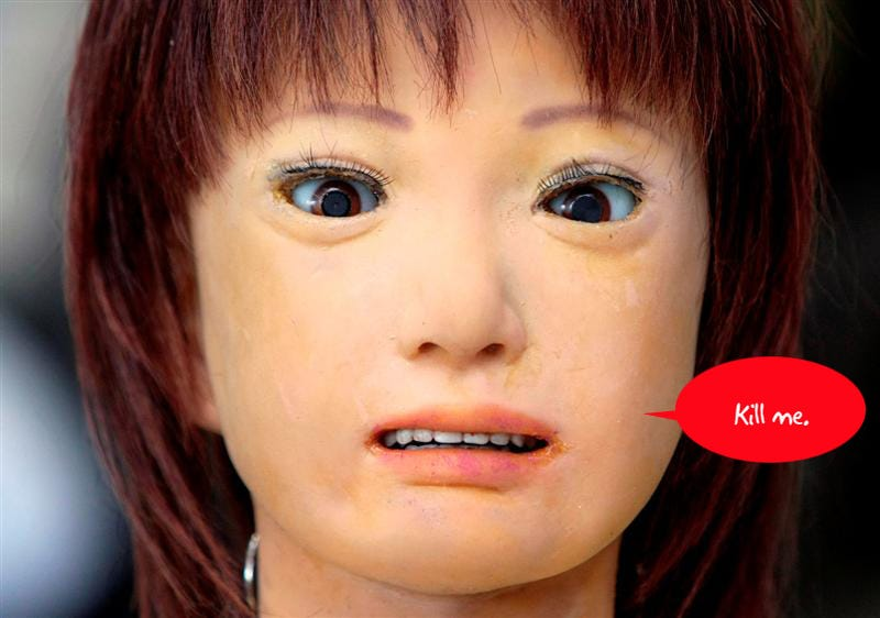 10 Creepy Machines From Robot Hell