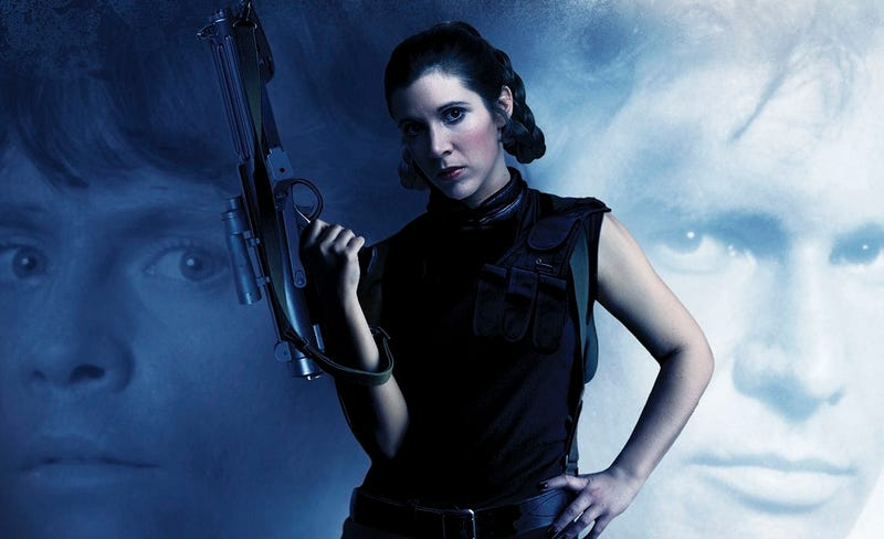 Princess Leia fights alone in a brand new Star Wars book