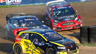Red Bull Global Rallycross shared their post to The Rally Takeover