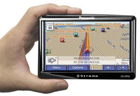 Panasonic Introduces Strada CN-GP50U, Its First Portable GPS Navigator,