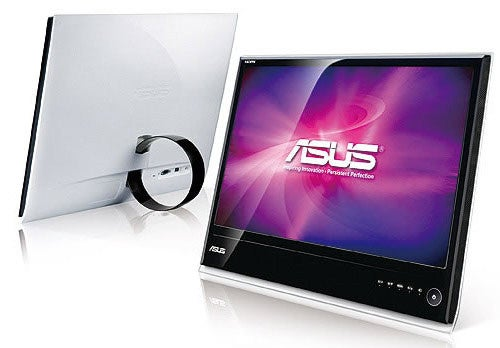 Asus Designo MS Series LCD Leans on a Donut