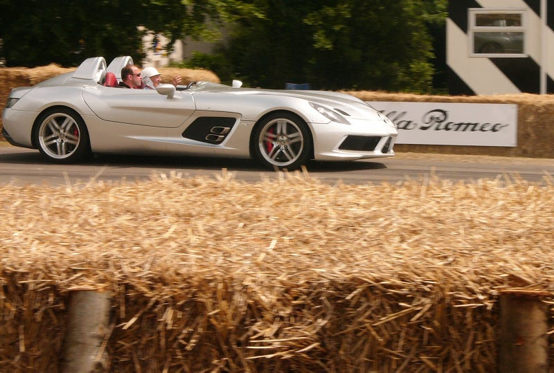 Motoring Celebrities at the Festival of Speed