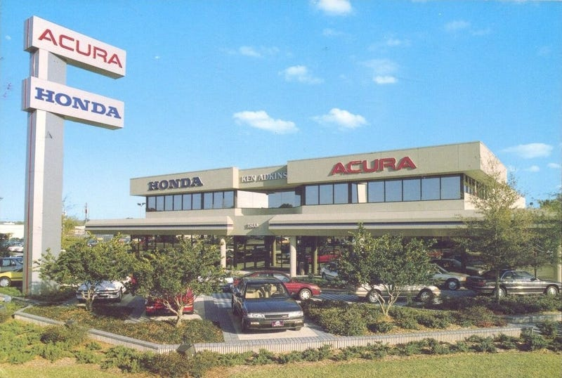 What a beautiful dealership!