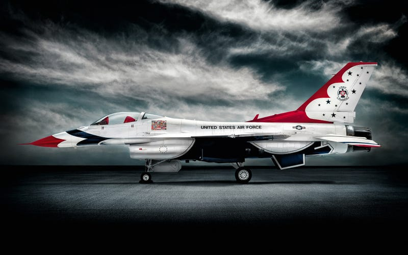 What happens when a normal guy gets to fly in a Thunderbird F-16