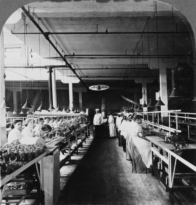 Utterly Disturbing, Century-Old Photos of Meat-Packing Facilities