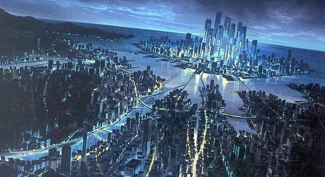 Neo Noir Anime 2 Neo-noir Cityscapes