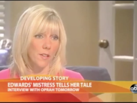 "Rielle Hunter Teaser: ""Elizabeth Didn't Know The Truth."""