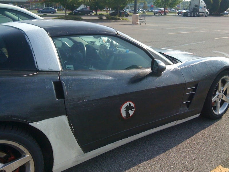 World's Worst Custom Corvette Keeps Getting Worse
