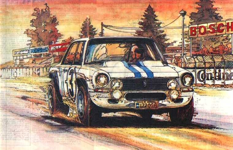 When Argentina ruled the Nürburgring