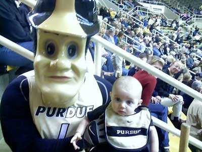 Purdue Pete's Child-Terrorizing Days Are Numbered