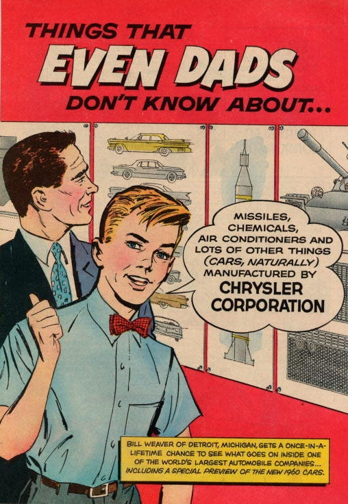 "In 1960, these were the ""Things That Even Dads Don't Know About"""