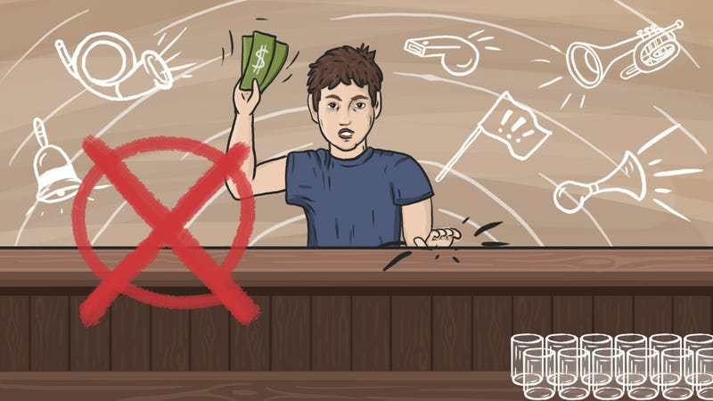 The Best Ways to Get a Bartender's Attention (Without Being a Jerk)