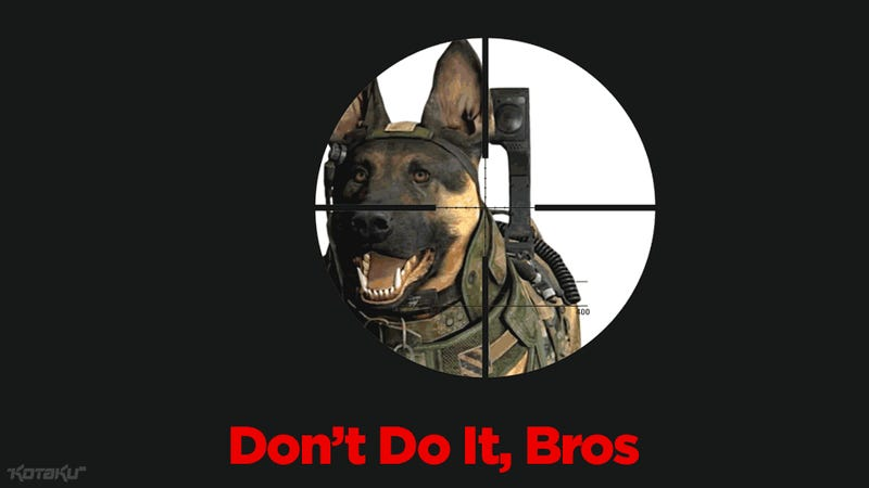 I Swear To God, They Had Better Not Kill Call of Duty Dog