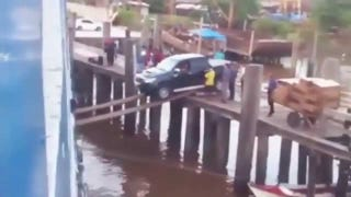 Truck Drives A Short Way Forward Without Incident