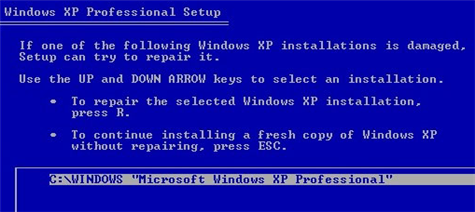 Rebuild XP without losing data or reinstalling software