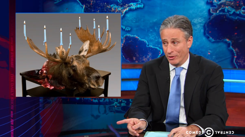 Jon Stewart Goes After the 'War on Christmas' Bullshit