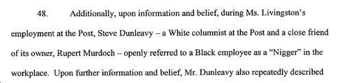 Another New York Post Reporter Sues Over Racism: Calls Out Steve Dunleavy