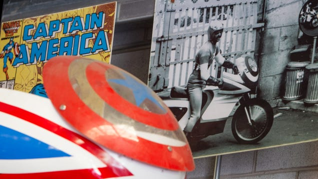 We found the original Captain America bike on Craigslist