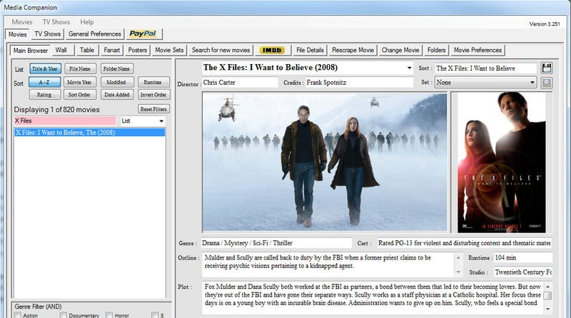 How to Whip Your Movie and TV Show Art into Shape for XBMC and Boxee