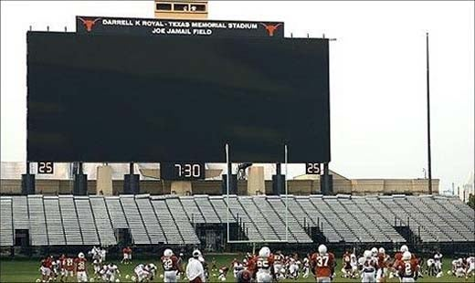 University of Texas Installs Ron Jeremy Sized HDTV