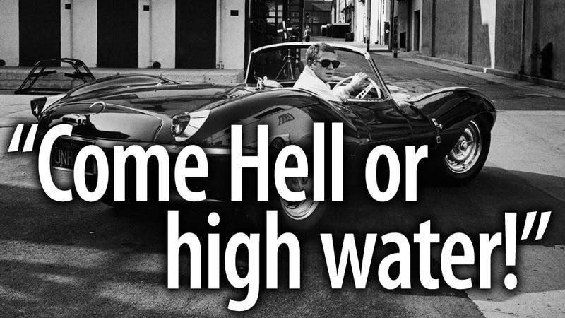 How Steve McQueen launched his career crashing a Cadillac