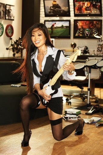 Activison's Ex is Now Playboy's Miss November (And She Prefers Rock Band!)