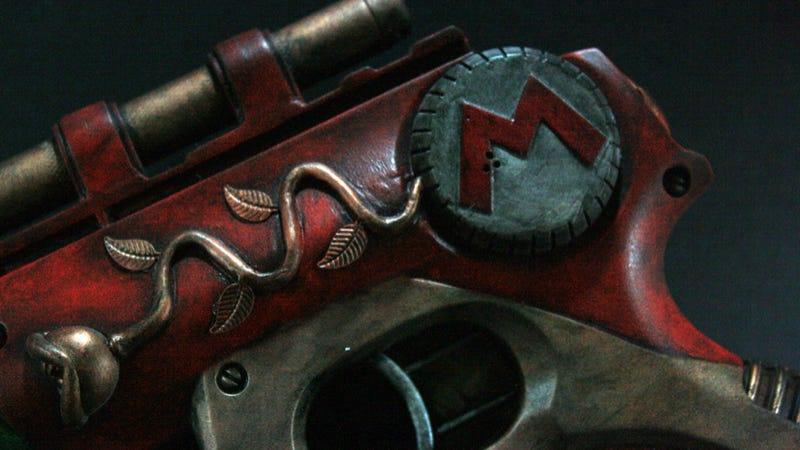 This Mario Gun Will Shoot You in the Awesomeness