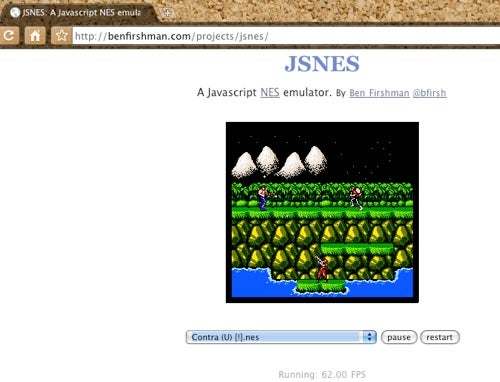 Remains of the Day: JavaScript NES Emulator in Chrome Edition