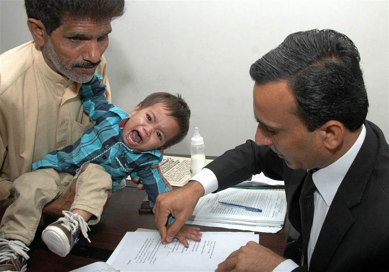 The Confession of Musa Khan, aka The Pakistani Murder Baby