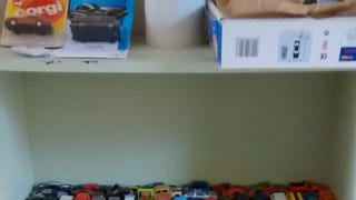 My hot wheels display