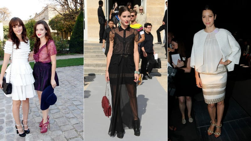 The Best And Worst Of Paris Fashion Week's Front Row