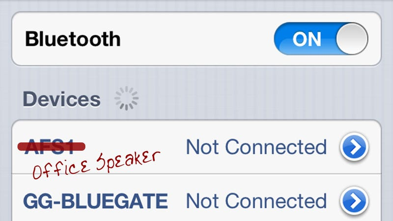 Rename Bluetooth Devices on Your Jailbroken iPhone