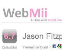 WebMii Shows You How the Web Sees You