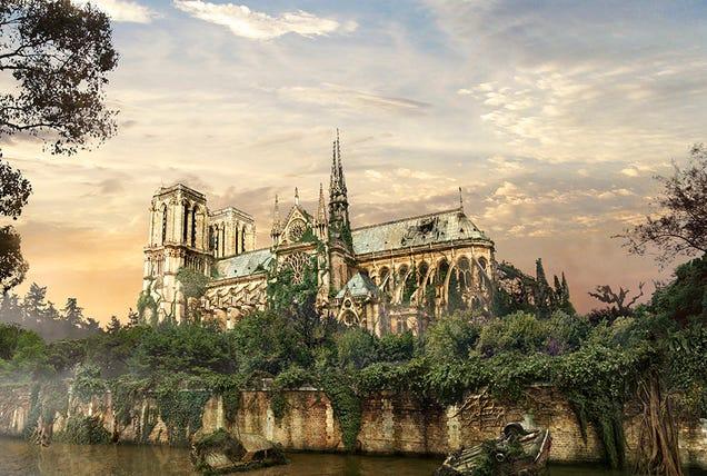 Cómo se verían lugares famosos tras un desastre mundial