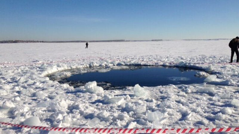This Is the Russian Meteor Impact Site