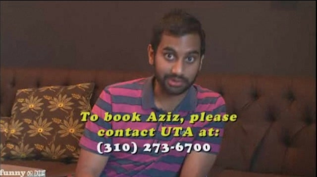 Aziz Ansari Begs the Producers Guild for Work
