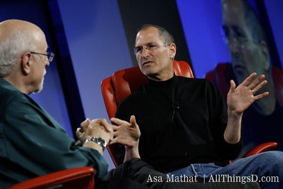 Conference Comeback for Steve Jobs?