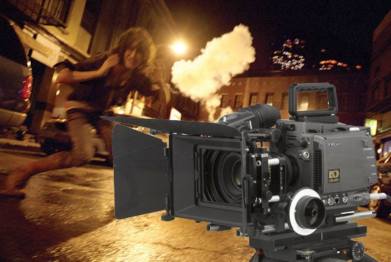 The Real Camera Behind Cloverfield