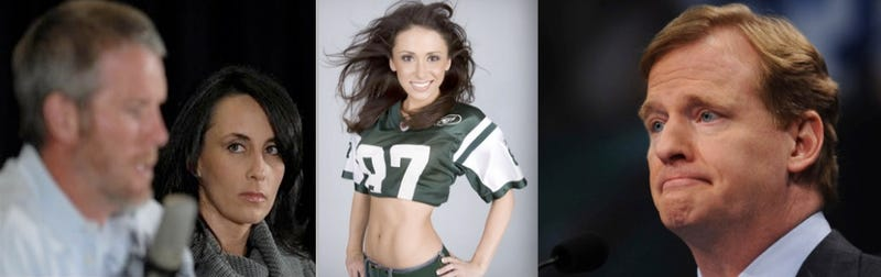 On Brett Favre's $50k Fine, Jenn Sterger's Reputation, And Roger Goodell's Willful Ignorance