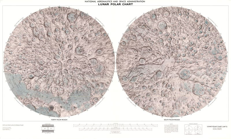 Lose Yourself in these Stunning Lunar Maps