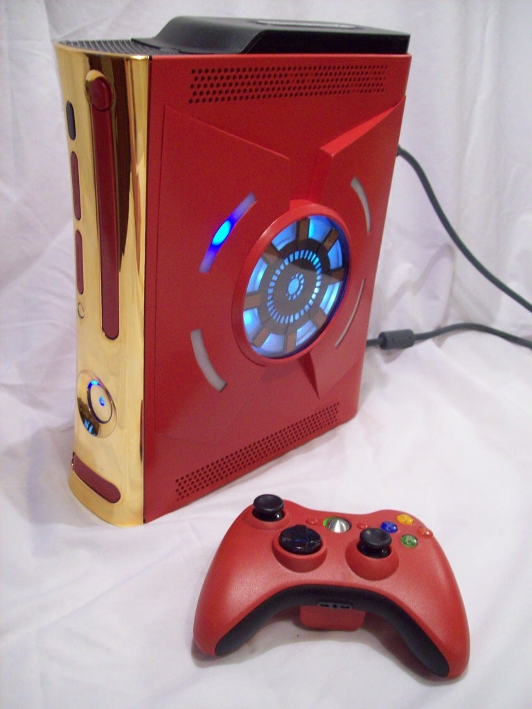 Iron Man Xbox 360 Mod Powers Your Gaming With Arc Reactor